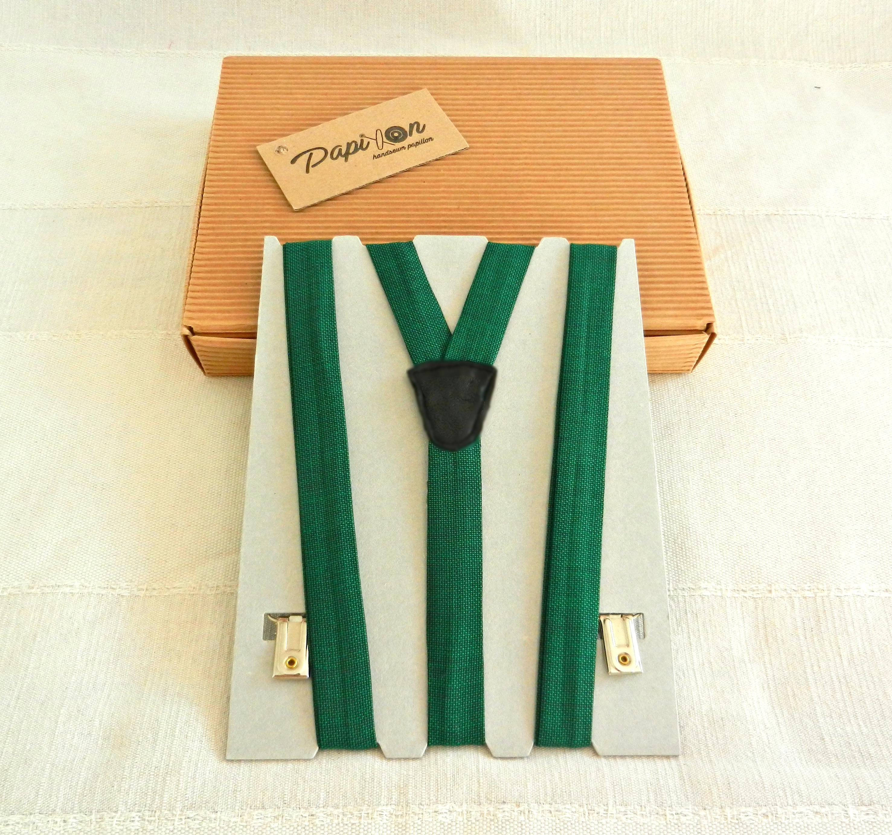 Bretelle Verde - Pezzi Unici2