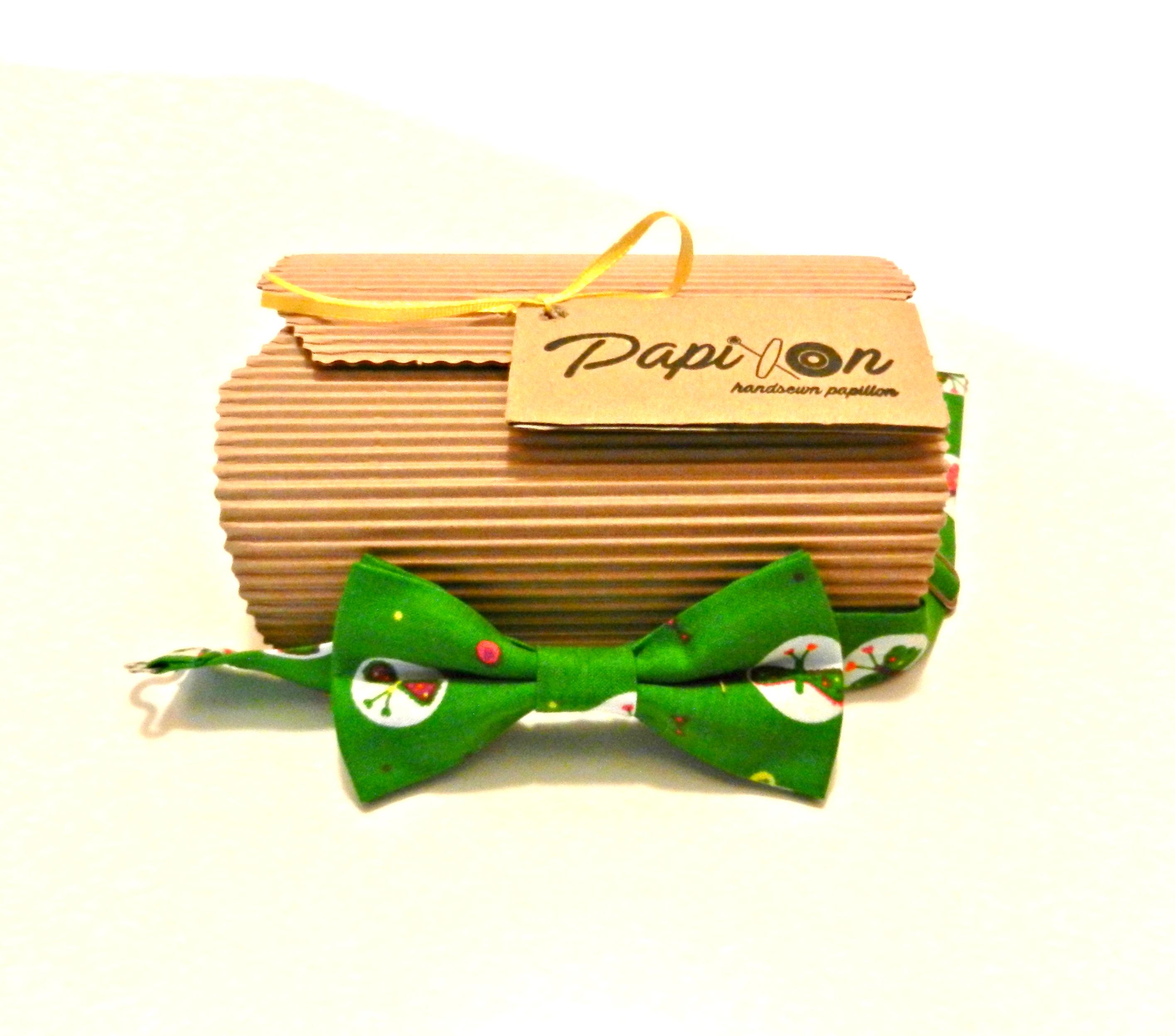 Papillon Kids Verde con Farfalle5