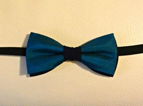 Seta Azzurro Cobalto fondo Seta Blu - Pezzi Unici-1