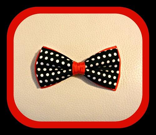 Seta Nero pois bianchi fondo rosso1