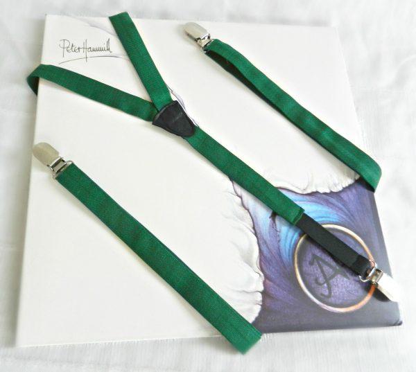 Bretelle Verde - Pezzi Unici